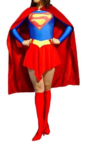 Ace Halloween Children's Kids Girls Justice League Superwoman Costumes (11Y-12Y) (Superwoman Costumes For Girls)
