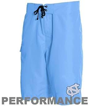 Columbia North Carolina Tar Heels (UNC) Carolina Blue Anglers Champion Performance Boardshort (Small)