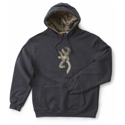 Best Price Men's Browning Realtree Camo Buckmark Hooded Sweatshirt