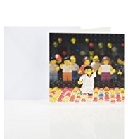 LEGO® Night Fever Blank Greetings Card