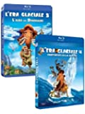 L' Era Glaciale 3 - L'Alba Dei Dinosauri / L'Era Glaciale 4 - Continenti Alla Deriva (Blu-Ray+Blu-Ray 3D+Dvd)