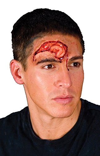 Woochie by Cinema Secrets Brain Matter Latex Appliance, Multi, One Size - 1
