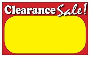 price signage template