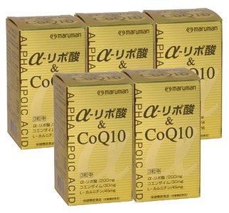 マルマン アルファリポ酸&COQ10 36g