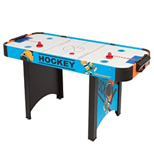 Ultrasport Air Hockey Table ICE - 56 x 25 x 31 inches (142 x 63 x 79 cm) by Ultrasport