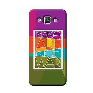 Garmor Make Art Not War Design Plastic Back Cover For Samsung Galaxy A5 SM-A500