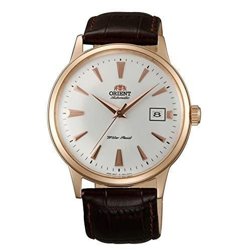 [オリエント]ORIENT 腕時計 自動巻 クラシックオートマチック 海外モデル 国内メーカー保証付きBambino(バンビーノ) ピンクゴールド SER24002W0