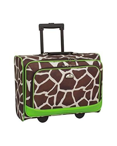 American Flyer Animal Print Underseater, Giraffe/Green