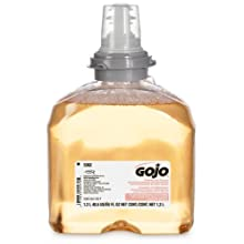 GOJO 5362-02 1200 mL Premium Foam Antibacterial Handwash (Case of 2)