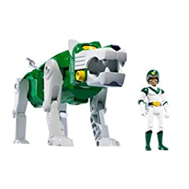 Green Lion and Pidge Voltron Defender of the Universe Action Figure Set