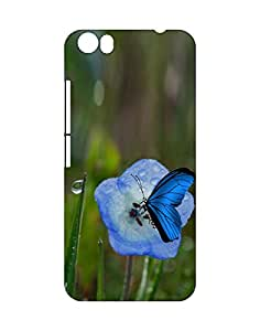 Mobifry Back case cover for Micromax Canvas Fire 4 A107 Mobile ( Printed design)