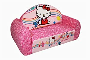 Sanrio Hello Kitty Music Notes Chair, Pink from Sanrio