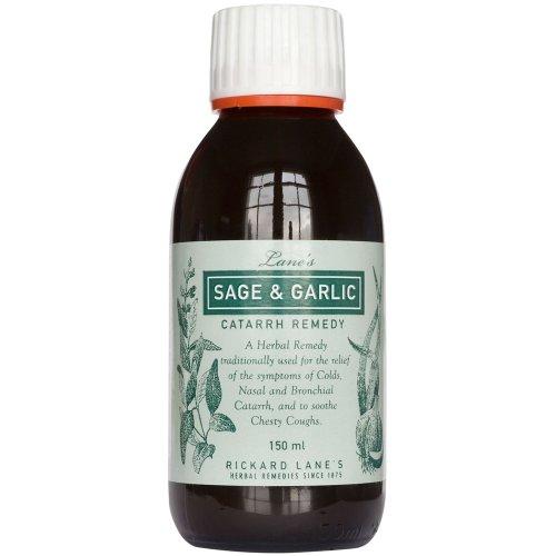 Napiers Lane's Sage and Garlic Catarrh Remedy 150 ml