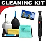 Lenspen Lens Cleaning System + Hurricane Blower + Deluxe 5-Piece Cleaning Kit For The Fujifilm FinePix J10, J100, J110, J150, Z20, Z200, Z100 Digital Cameras