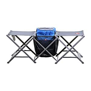 Igloo Dual Chair Portable 20 Can Cooler Combo