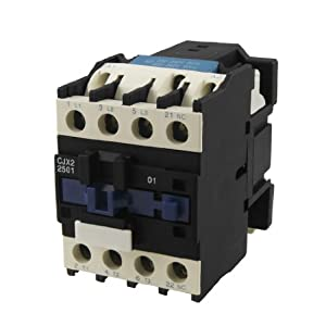 Cjx2 2501 Ac Contactor 25 Amp 3 Phase 3 Pole Nc 220v 50