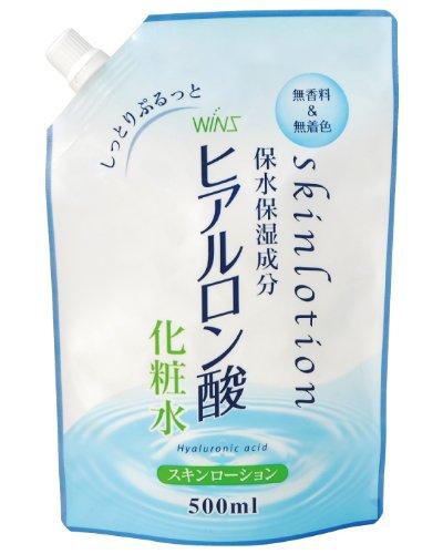 ウインズ ヒアルロン酸化粧水 詰替 500ml