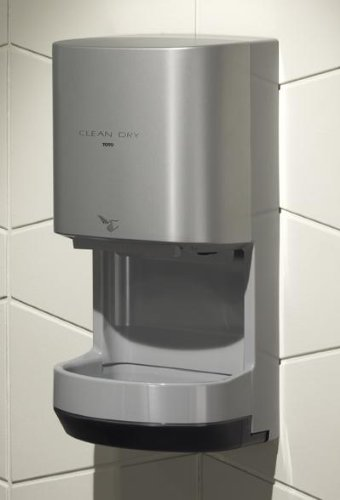 TOTO HDR100-GY Cleandry High Speed Hand Dryer Finish (Gray)