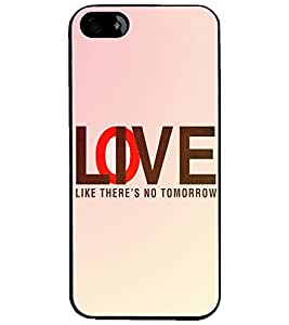 PrintDhaba Quote D-3919 Back Case Cover for APPLE IPHONE 5S (Multi-Coloured)