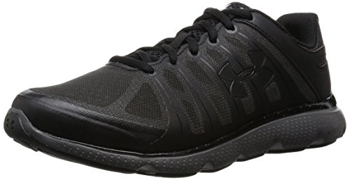 Under Armour Micro G Pulse II 4E - Scarpe Running Uomo, Nero (Black), 43 EU