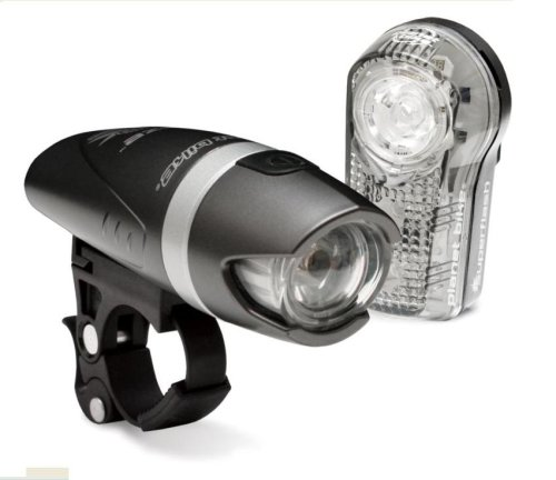 Planet Bike Blaze 1-Watt Headlight and Superflash Taillight Combination Bicycle Light Set