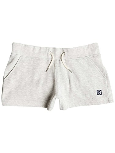 Dc Shoes Rebel Star Shorts, Color: Light Heather Grey, Size: S