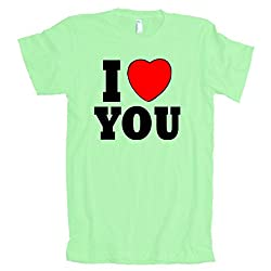 I Love You American Apparel T-Shirt
