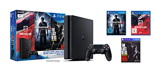PlayStation-4-Konsole-1TB-schwarzslim-inkl-Uncharted-4-Driveclub-The-Last-of-Us