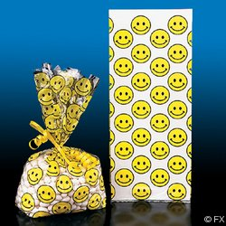 Smiley Face Goody Treat Bags