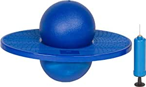 Trademark Innovations Balance Board with Ball - Foot-Gripping Balance Stand