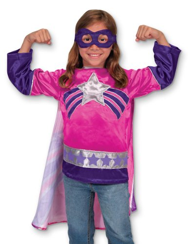 Melissa & Doug Super Heroine Role Play Costume Set - 1