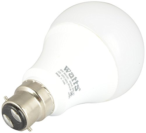 Watts-9W-B22-LED-Bulb-(White)