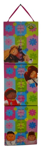 Cabbage Patch Kids Foldable Hardcover Hanging Wall Growth Chart - 1