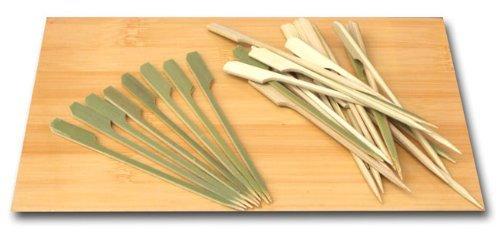 Lot de 500 brochettes à apéritif en bambou 9 cm