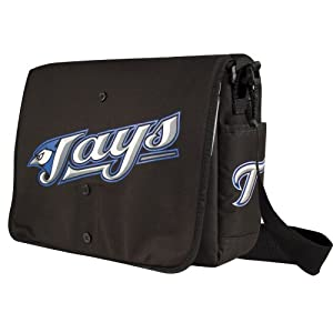Toronto Blue Jays Jersey Messenger Bag 15.5 x 4 x 11 by Little Earth