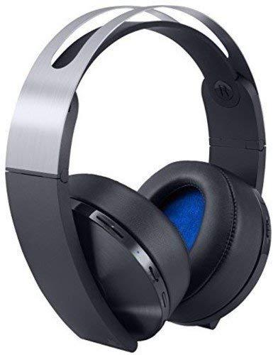 PlayStation Platinum Wireless Headset - PlayStation 4 (Renewed) (Color: Platinum, Tamaño: PlayStation)