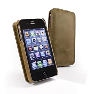 Tuff-Luv Western Leather Collection V2 Antenna Assist Hide Case Cover