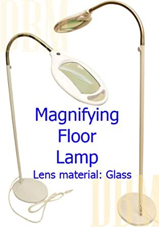 Reading magnifying magnifier lamp floor light flexible for Amazon magnifier floor lamp