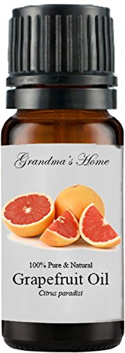 Grandma's Home Essential Oils - 100% Pure Therapeutic Grade - Buy 4 Get 1 Free! (Grapefruit (Pink), 10 mL)