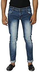 Aruze Men's Regular Fit Jeans (ARUMJ105-DARK-BLUE-32, Blue, 32)