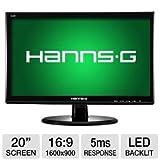 "HannsG HL203DPB 20"" Class LED Backlit Monitor"