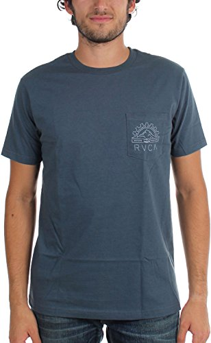 rvca-big-deal-t-shirt-pour-hommes-small-midnight
