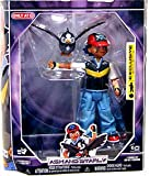 Image of Pokemon Diamond & Pearl Exclusive Deluxe Action Figure Trainer Set Ash & Starly