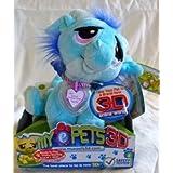 Rescue Pets 2009 Blue/Green Dragon 3D Epets E Pets