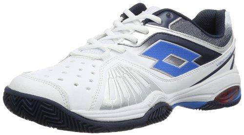 lotto-vector-vi-baskets-de-tennis-homme-blanc-weiss-wht-aviator-46-eu