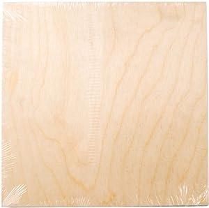 "Wood Canvas Panel 10""X10""-"