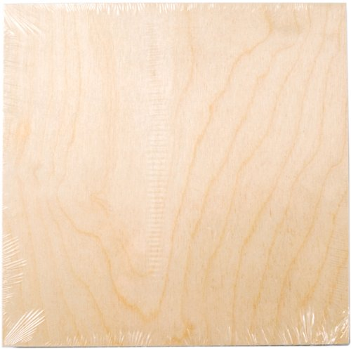 Plaid Wood Canvas Panel (10 by 10-Inch), 12752 (Wood Board compare prices)