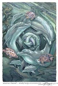 Dolphin Planet Jody Bergsma Art Print