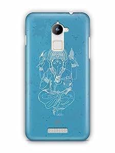 YuBingo Ganesha Designer Mobile Case Back Cover for Coolpad Note 3 Lite