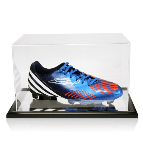 Adidas Predator Football Boot Signed By Steven Gerrard With Acrylic Display Case Black Friday & Cyber Monday 2014